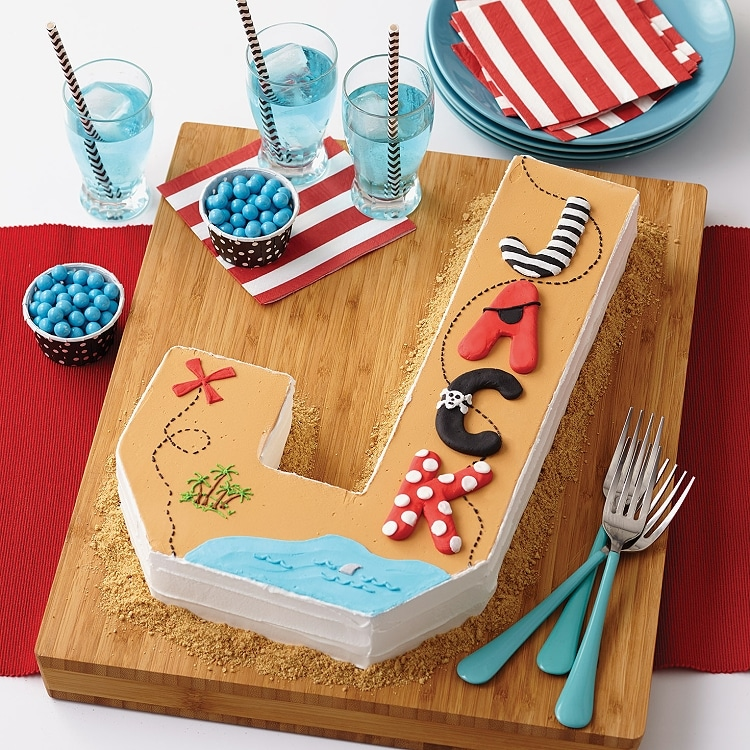 Wilton Countless Celebrations Letter And Number Cake Pan