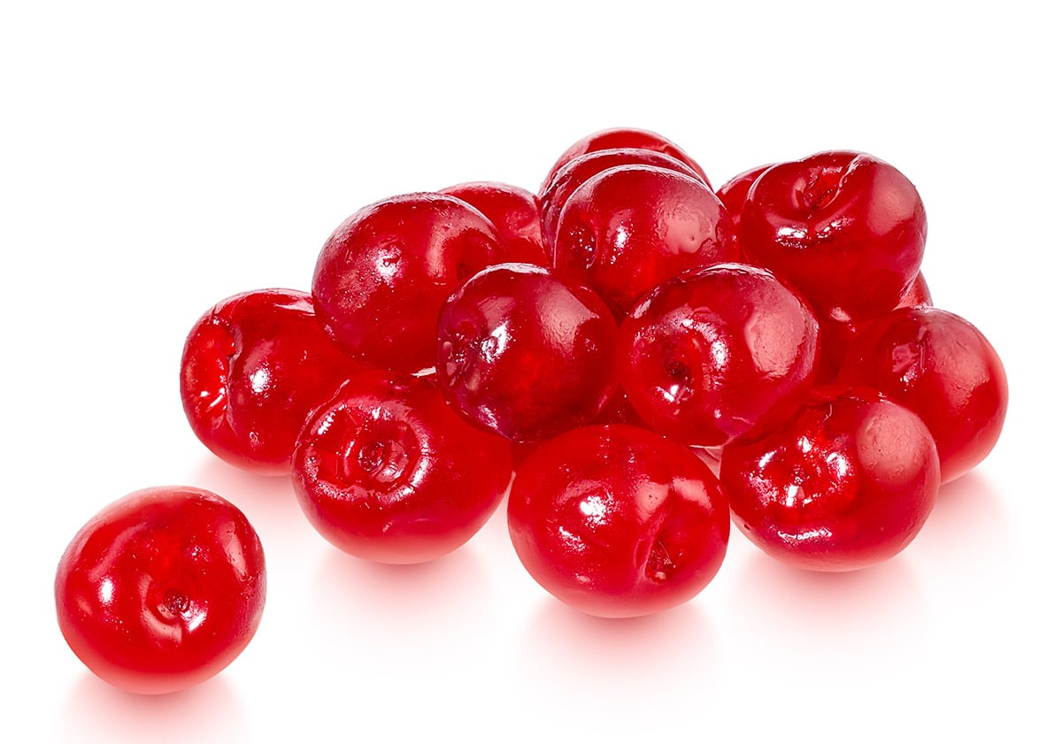 glazed red cherries x 250g cake craftcake craft